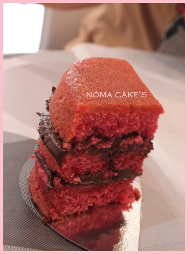 bizcocho frambuesa basico cake