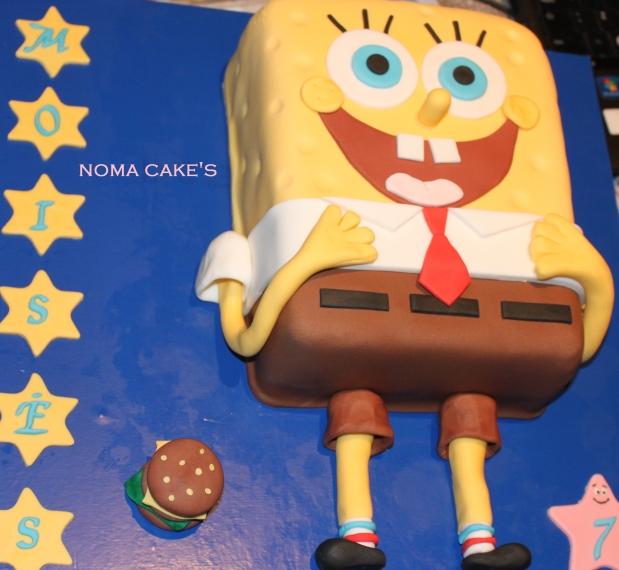 tarta bob esponja