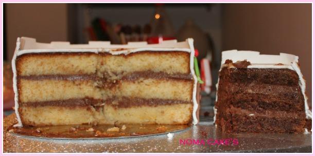 tarta castillo princesas disney