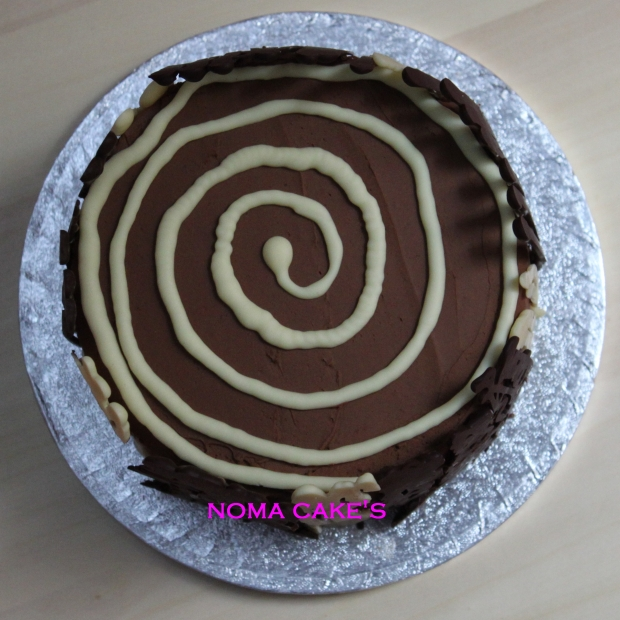 tarta naranja 2 chocolates