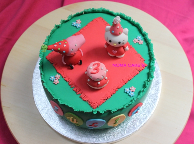 tarta peppa pig kitty