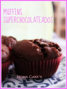 muffins superchocolateados