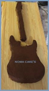 guitarra fender tarta