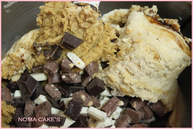 galletas cookies 3 chocolates toffe bayleis