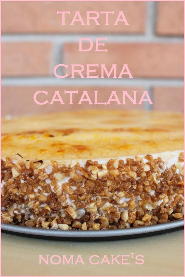 tarta crema catalana receta