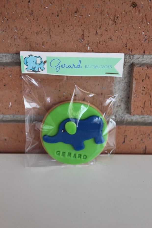 galleta elefantito elefante