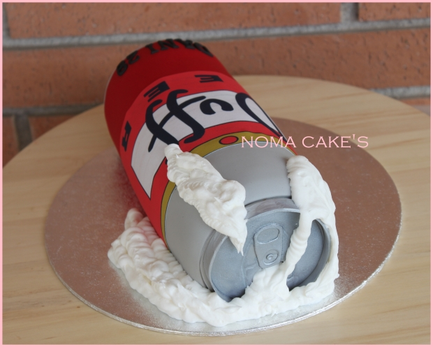 cerveza duff simpson tarta cake beer