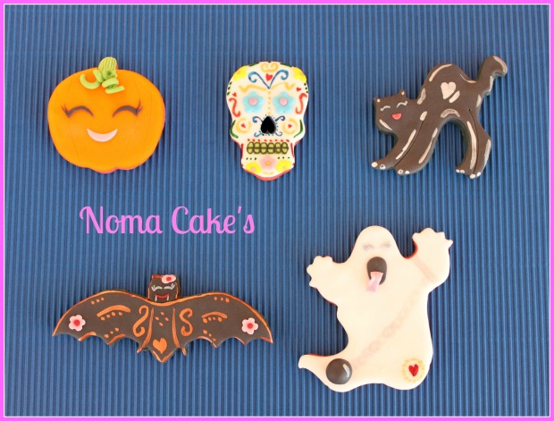 galletas halloween fondant