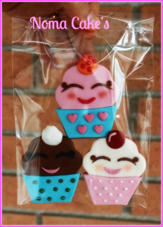 galletas cupcakes