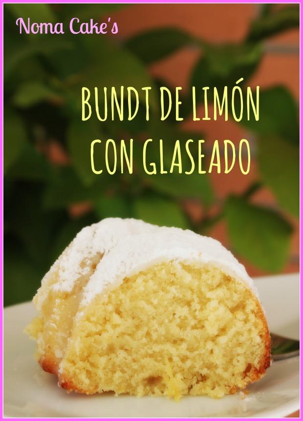 Bundt limon glaseado