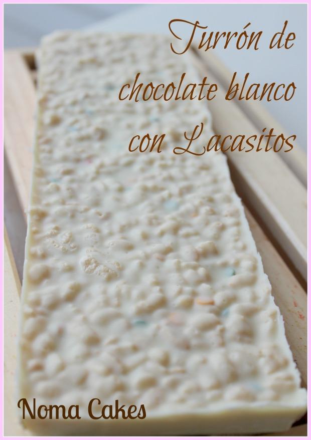 turron chocolate blanco lacasitos