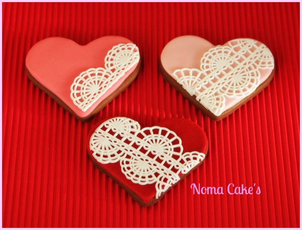 galletas san valentin cookies