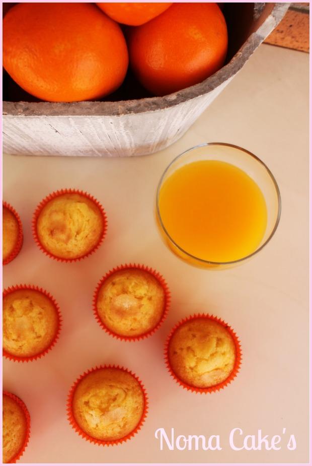 magdalenas naranja
