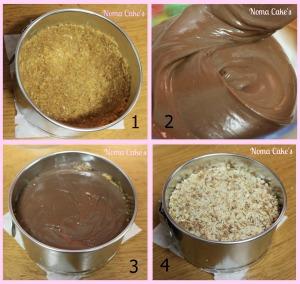tarta queso crema cacao nocilla nutella menos grasa sin horno