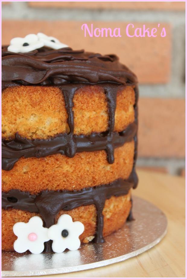 layer cake vainilla y chocolate
