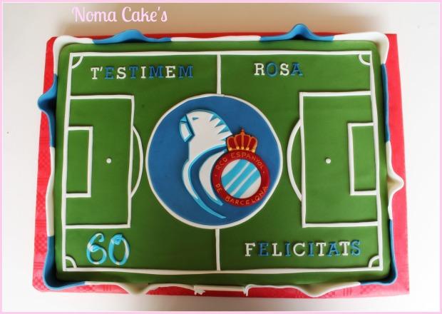 rcd espanyol tarta campo futbol