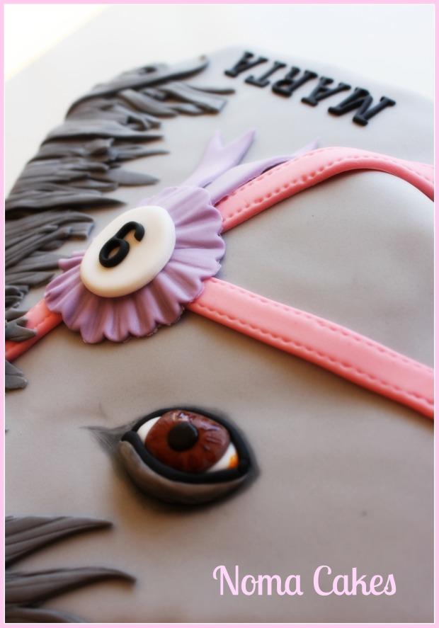 tarta caballo horse cake