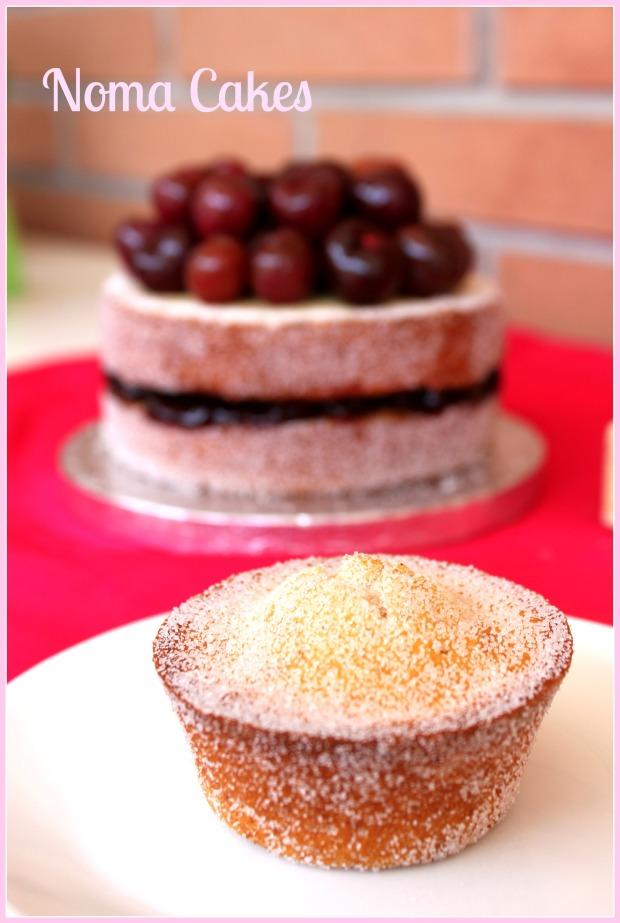tarta donuts cerezas muffins
