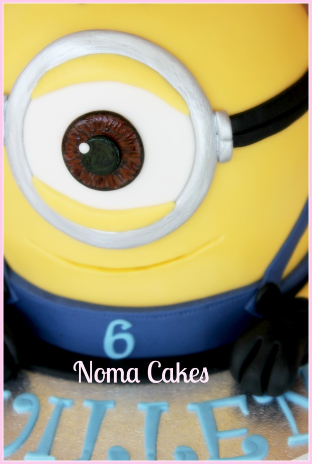 tarta cake minion