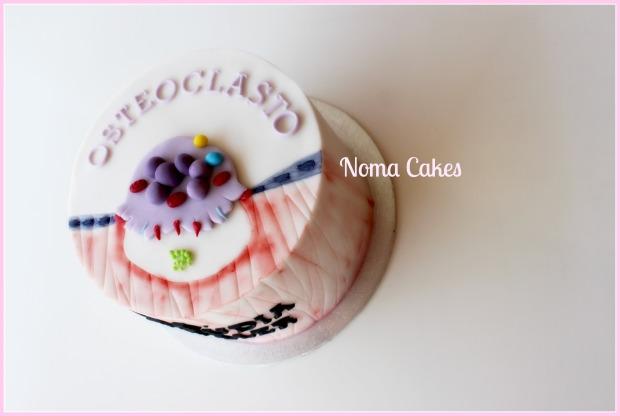 tarta osteoclasto célula cientifica