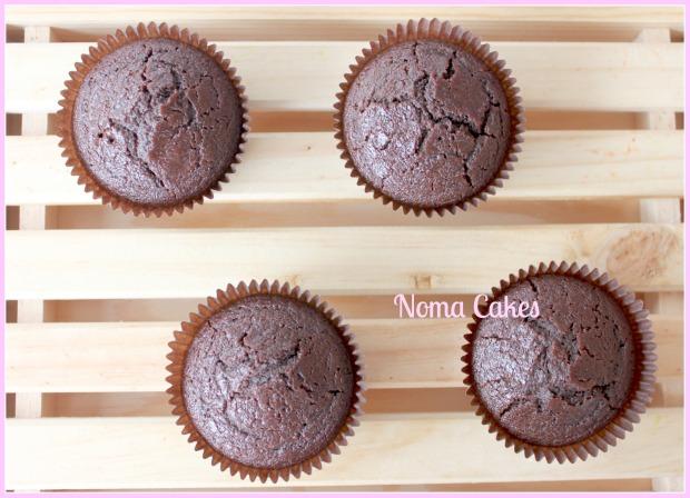 cupcakes veganos chocolate