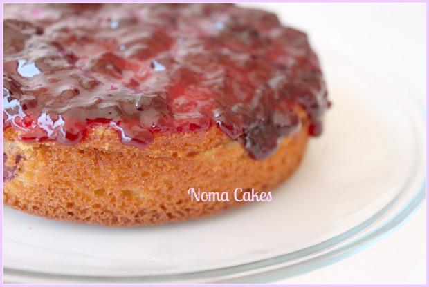 bizcocho de cerezas cherry cake