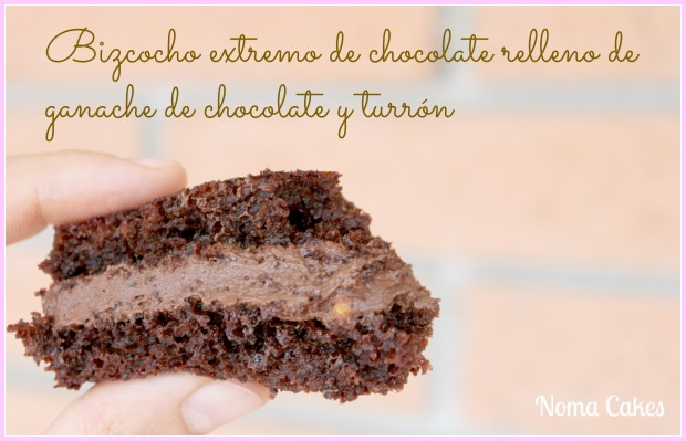 tarta malefica ganache chocolate turron