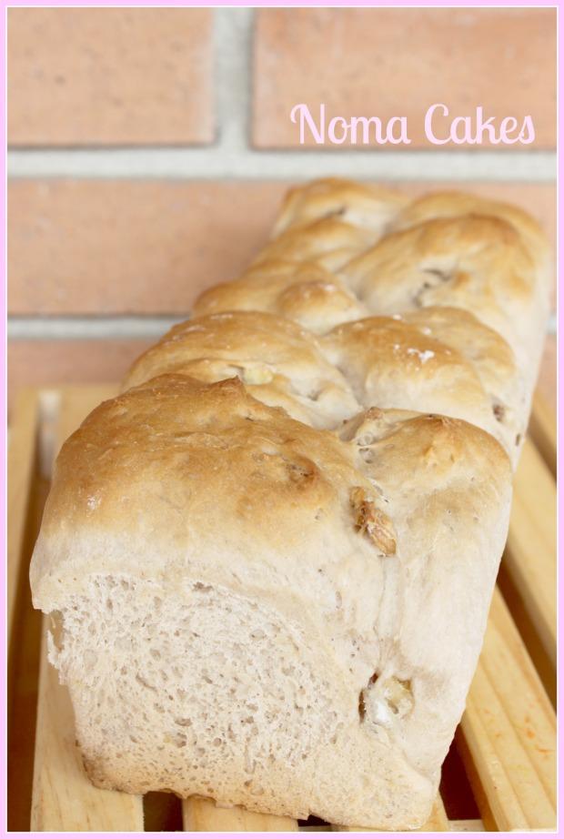 pan molde nueces
