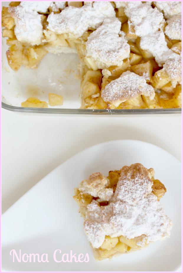tarta de manzana szarlotka repostería polaca