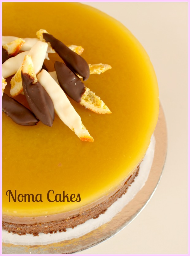 tarta naranja chocolate galleta
