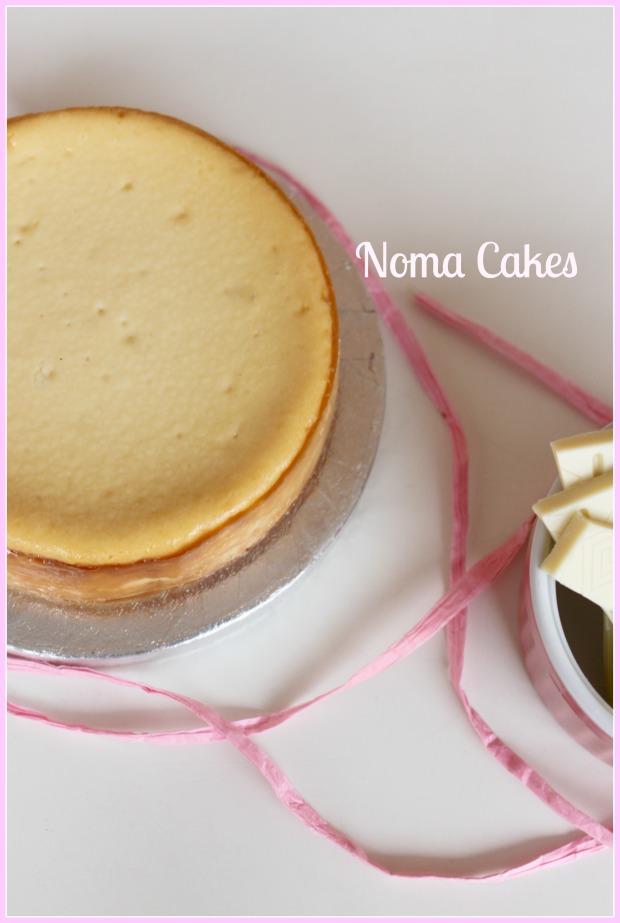 tarta queso y choco blanco cheesecake