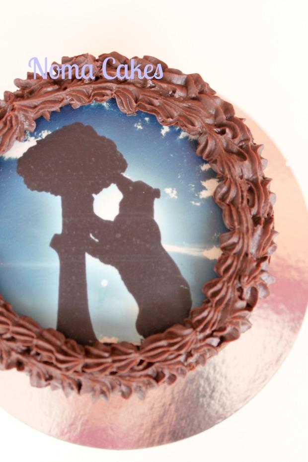 oso madroño tarta