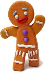galleta de jengibre Jinger hombre de jengibre