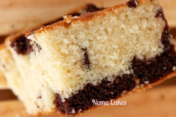 bizcocho coco chocolate