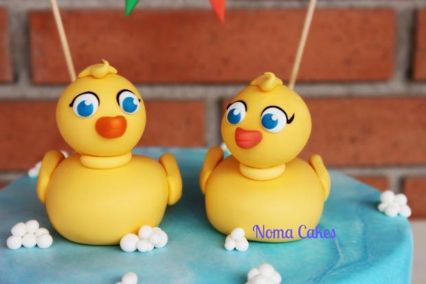tarta patitos patos ducks cake