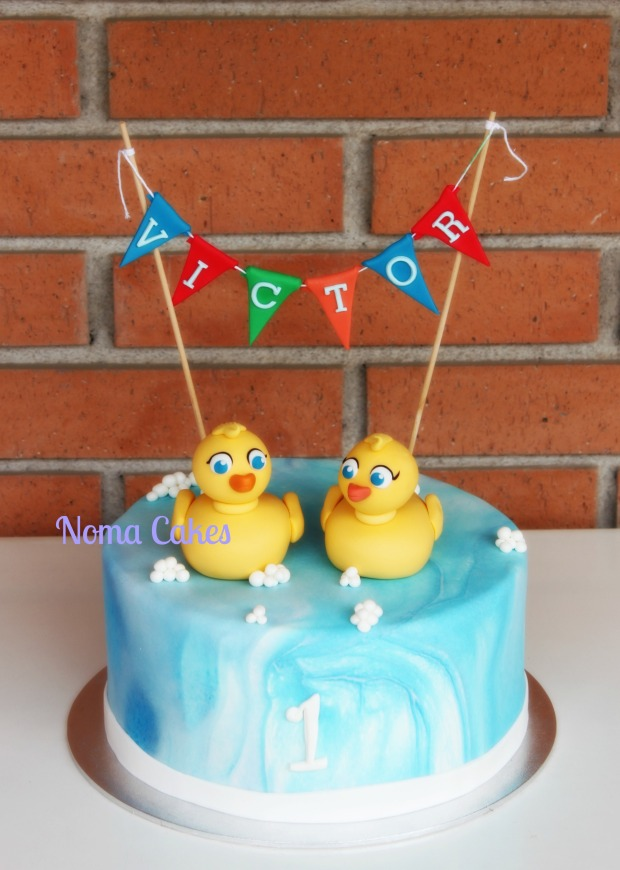 tarta patitos patos ducks cake