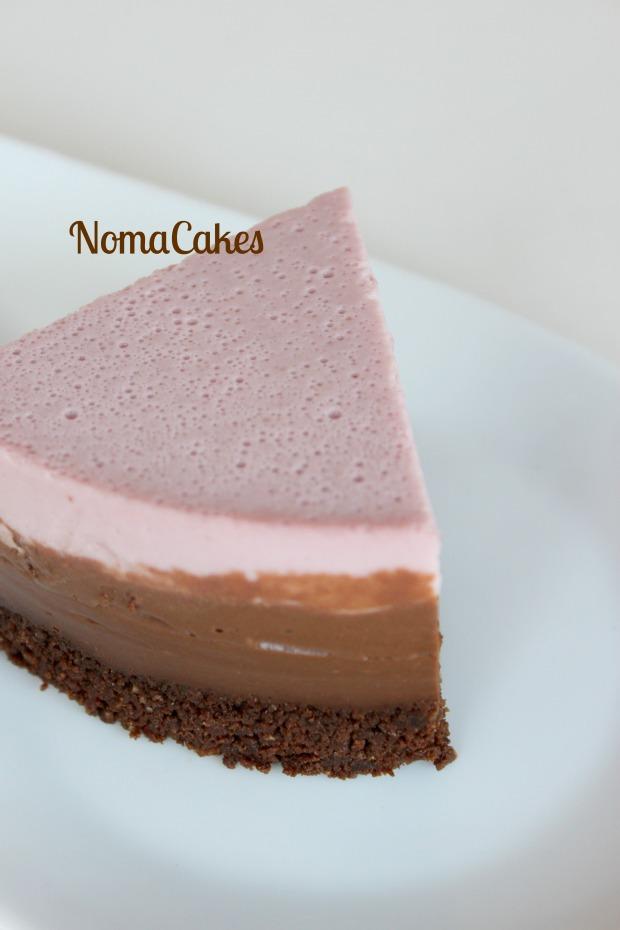 trata fria cerezas chocolate cherry cake