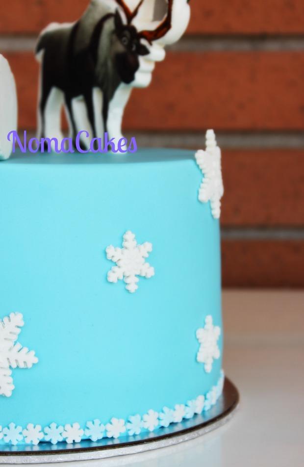 tarta Frozen cake