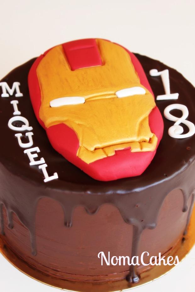 Ironman tarta cake