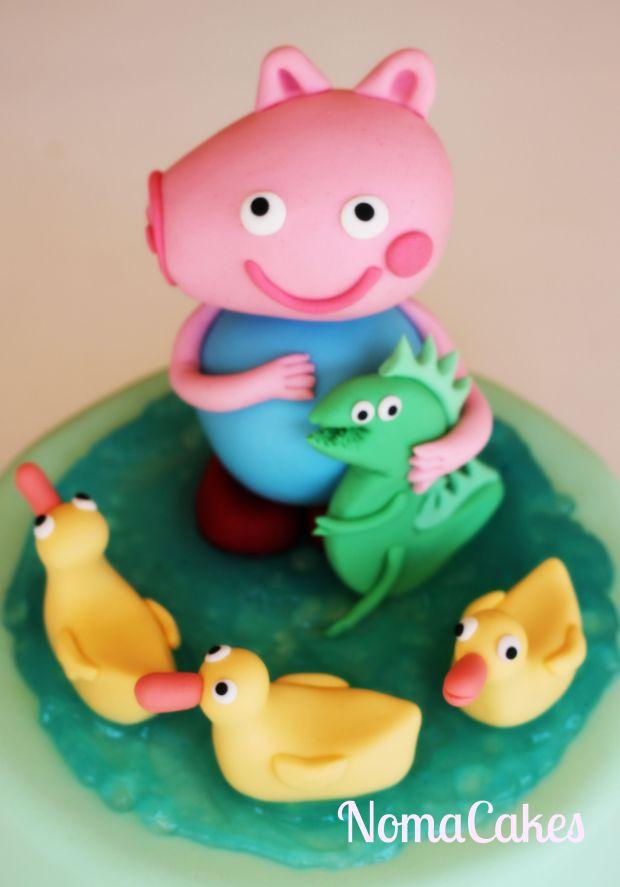 tarta George Pig cake