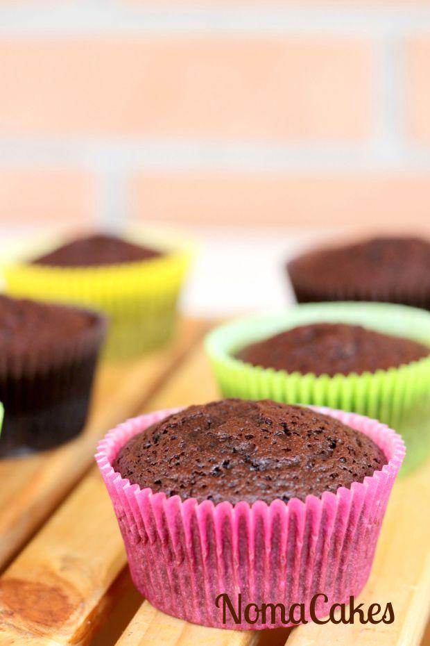 cupcakes chocolate puro