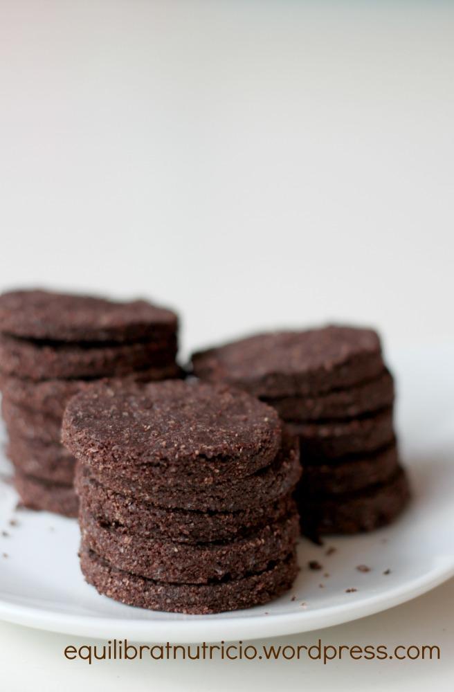 oreo galletas veganas vagetarianas chocolate sin horno