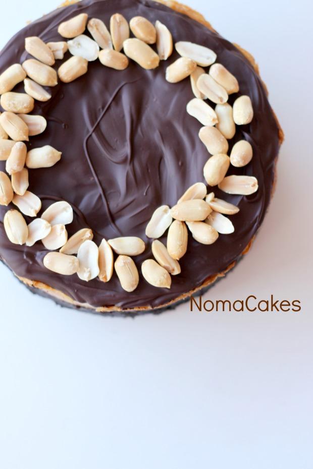 cheesecake cacahuete chocolate