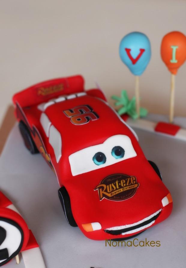 tarta cars cake