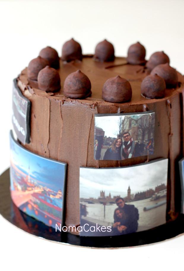 tarta viajera traveler cake